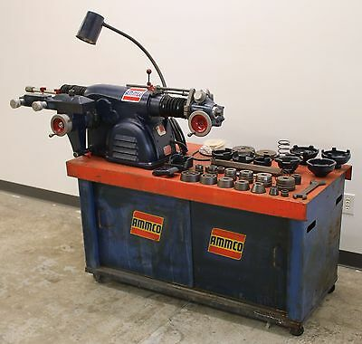 Ammco 4100 Heavy Duty Disc & Drum Brake Lathe w/ Bench & Adapter Kit #9
