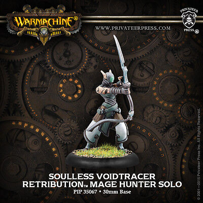 Warmachine Retribution Soulless Voidtracer Mage Hunter PIP35067 FreeOverseasShip