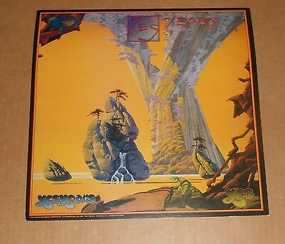 Yes Years Poster 2-Sided Flat Square 1991 Promo 12x12