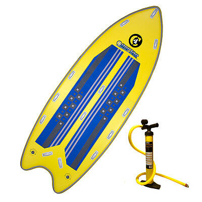 "2016 C4 Waterman 14'0"" Raptor Inflatable SUP Standup Paddle Board for 2-4 people"