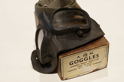 WW2 British Night Simulator Gunnery Goggles in box