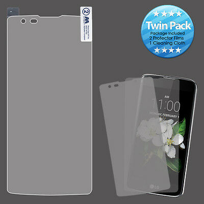 Screen Twin Pack Strong Adhesion & Ultra-thin for LG MS330 K7 LG LS675 Tribute 5