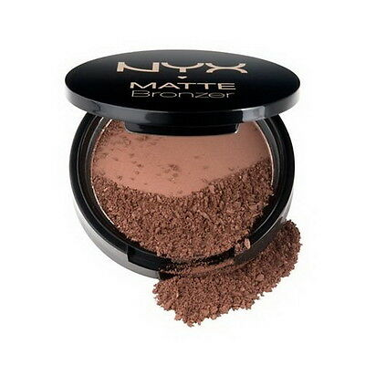 NYX Matte Bronzer Powder For Face and Body - MBB02 - (Deep) 0.33oz