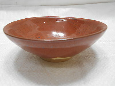 Japanese Tea Ceremony Pottery Bowl Chanoyu Traditional Vintage  #102