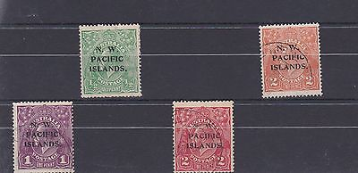Selection N.W. Pacific Stamps