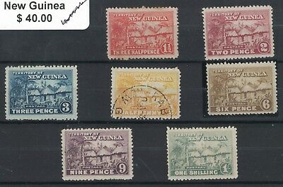 Selection New Guinea - Stamps