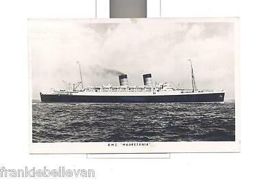 CARTOLINA *Nave R.M.S. Mauretania* (1952) Air mail/Par avion
