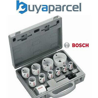 Bosch 14 Piece Progressor Holesaw Set 2608584667 19mm - 72mm & HSS Pilot Drills