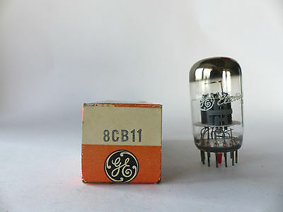 General Electric Röhre 8CB11 Zweifach Pentode , Tube