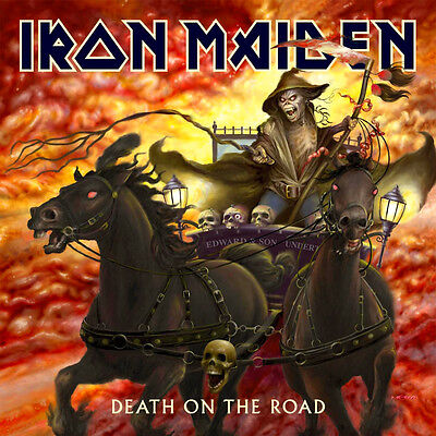 Iron Maiden - Death On The Road Vinyl LP New & Sealed