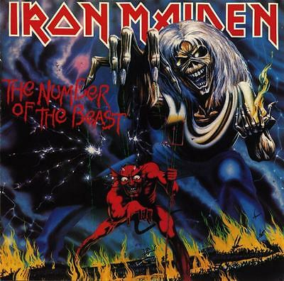 Iron Maiden - The Number Of The Beast Vinyl LP New & Sealed