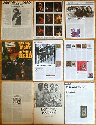 THE GRATEFUL DEAD 1970s/10s clippings photos magazine Jerry Garcia