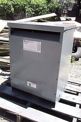 General Electric Transformer 30Kva, HV 480  Cat# 9T23A3872 .. 3 Phase .. OD-387