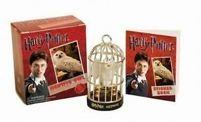 NEW Harry Potter : Hedwig Owl and Sticker Book By Press Running Free Shipping