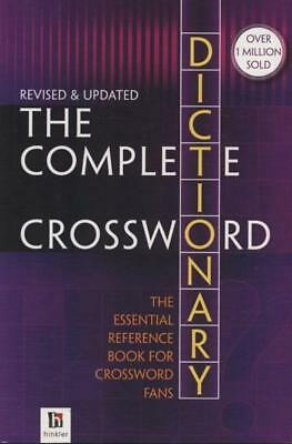 NEW The Complete Crossword Dictionary By Hinkler Books Pty Ltd Paperback