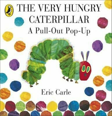 NEW The Very Hungry Caterpillar By Eric Carle Hardcover Free Shipping