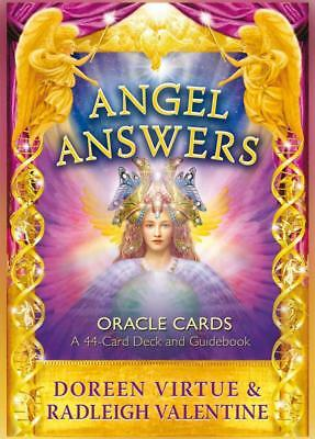 NEW Angel Answers Oracle Cards By Doreen Virtue Card or Card Deck Free Shipping
