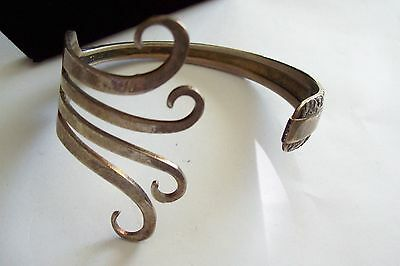 Fabulous Vintage TOWLE Sterling FORK Cuff Bracelet