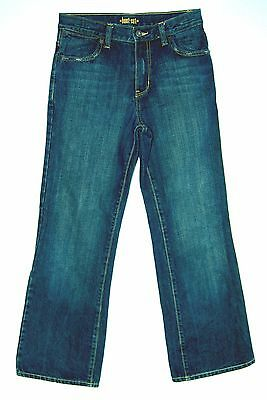 100% Cotton Denim ELASTIC WAIST Rise LOOSE Boot Cut OLD NAVY Jeans! 14 Youth