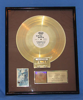 Geto Boys -My Minds Playing Tricks On Me---Rap-A-Lot/ Riaa Certified Gold Award