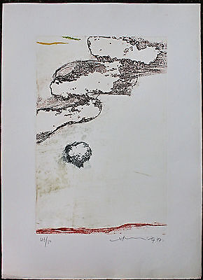 HSIAO CHIN (蕭勤) incisione acquatinta 70x50 firmata numerata 011 1977 handsigned