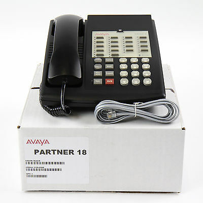 Partner 18 Euro Series 1 Black Avaya Phone - Lot