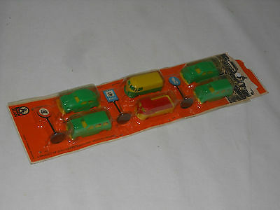 JEAN HÖFLER -  VINTAGE TOY - CAR SET 60èr JAHRE  - GERMANY - OVP VW BULLI u.a.