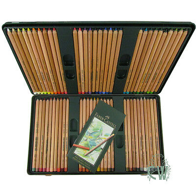 Faber Castell Pitt Pastel Pencil Set of 60. Artists Drawing Colour Pencils.