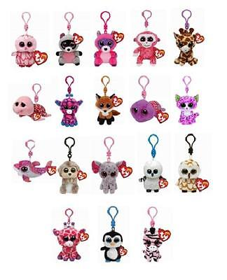 Ty Beanie Boos Key Clip Plush Soft Toy Choose from a large selection #2