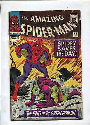 The Amazing Spider-Man #40  (5.0) 1St Told Origin Of The Green Goblin