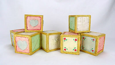 Priscilla Hillman Display Baby Blocks