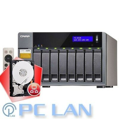 QNAP TS-853A-4G 8 Bays NAS + 16TB 8x WD Red 2TB WD20EFRX