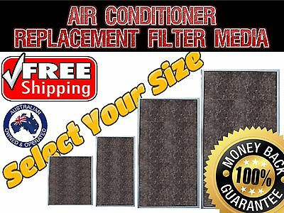 Ducted Airconditioner Filter Replacement Material Media - For All Air Con Brands