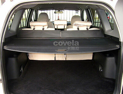 Toyota Rav4 09-12 Black Rear Load Cover Cargo Luggage Parcel Shelf Replacement