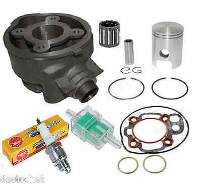 Pack Haut Moteu Cylindre Piston cage bougie  AM6 Yamaha TZR / MBK X-power 50