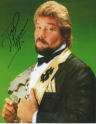 WWE legend THE MILLION DOLLAR MAN personally signed 10x8 - TED DiBIASE