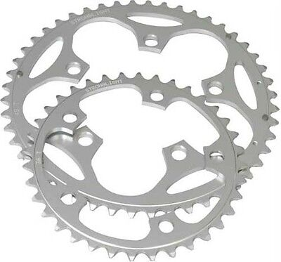 Stronglight 110BCD Road Racing Bike Alloy Compact Chainring 9/10 speed 39T 5 Arm