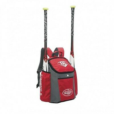Louisville Slugger Series 3 Baseball Bat Pack, Scarlet Red