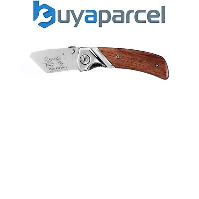 Stanley Wooden Grip Folding Knife Handle Utility Trimming 0-10-073 STA010073