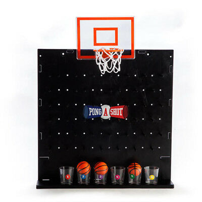 Pong A Shot Basketball Game Group Family Friend Perfect Bonding Games Anywhere