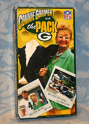 "Vintage 1996 "" Connie Gomper & The Pack "" Green Bay Packers VHS Tape - FUNNY!"