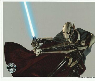 Star Wars Photo General Grievous with 1 light saber 8 x 10 inch Photo