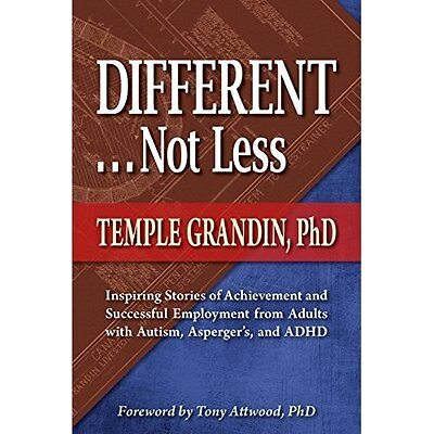 Different... Not Less: Inspiring Stories of Achievement - Paperback NEW Temple G