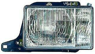 Isuzu Trooper 1987-1991 LH Headlight, Square Type