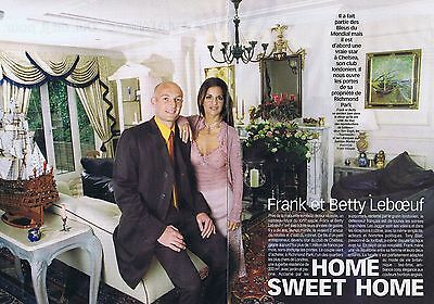 Coupure de presse Clipping 1999 Frank & Betty Leboeuf (6 pages)