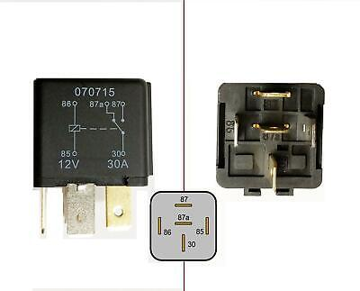 Quality 5 Pin Relay 12V 30A Current Protection Heavy Duty Van Jeep Caravan Boat