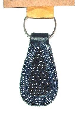 "South African Beaded Teardrop Keychain 2"" Contemporary Colors FREE SHIPPING S31"