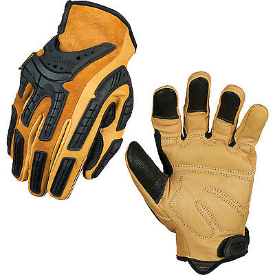 Mechanix Wear CG Full Genuine Leather Multipurpose Gloves - Multiple Sizes