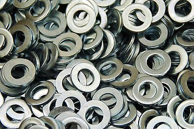 (500) Metric M12 Flat Washers - Zinc Plated 12mm