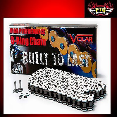 GSXR 1000  White chain, 150 link-530 O-Ring Chain For  Swingarm Extensions